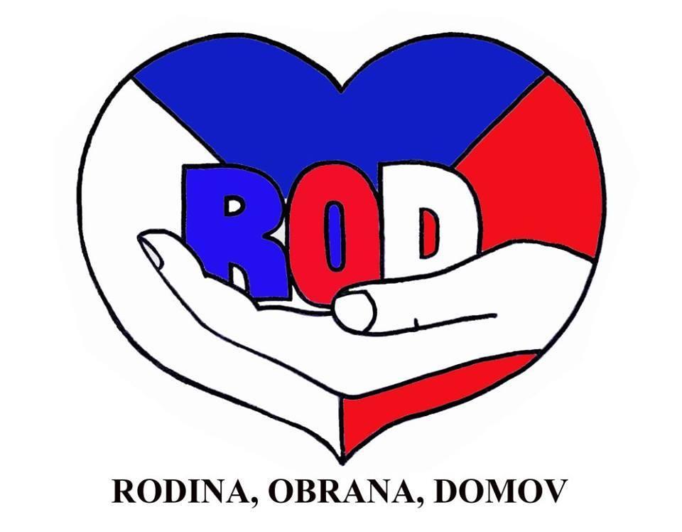 logo ROD - Rodina, Obrana, Domov